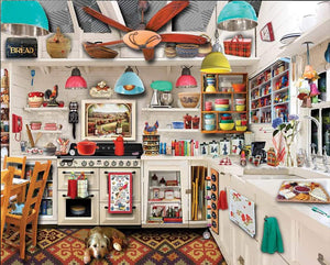 White Mountain Retro Kitchen Seek and Find 1000 pc Puzzle