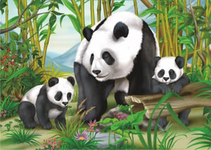 Springbok Kids Puzzle by Heidi Art Pandas 35 pc Puzzle-COMING SOON