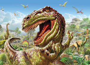 Springbok Kids Puzzle by Heidi Art T-Rex 100pc Puzzle-COMING SOON