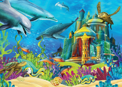 Springbok Kids Puzzle by Heidi Underwater Castle-COMING SOON