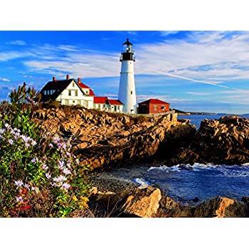 Springbok The Cottage Lighthouse 1000pc Puzzle-COMING SOON