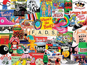 White Mountain Fads 1000pc Puzzle-COMING SOON