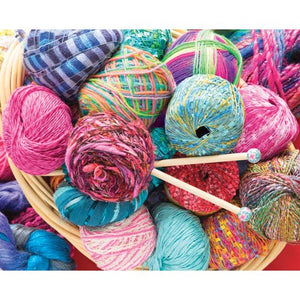 Springbok Colorful Yarn 500pc Puzzle-COMING SOON