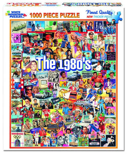 White Mountain The Eighties 1000pc Puzzle- COMING SOON