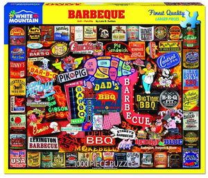 White Mountain Barbeque 1000 Piece Puzzle
