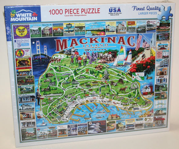 White Mountain Mackinac 1000 Piece Puzzle