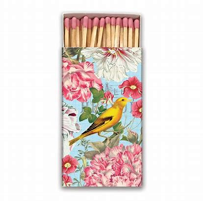 Michel Design Garden Melody Matchbox