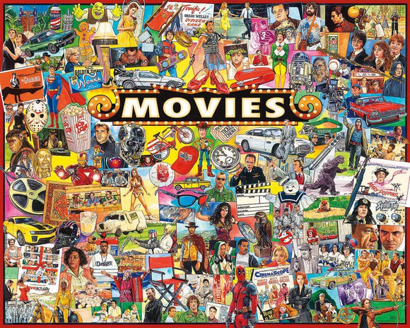 White Mountain Movies 1000 Piece Puzzle