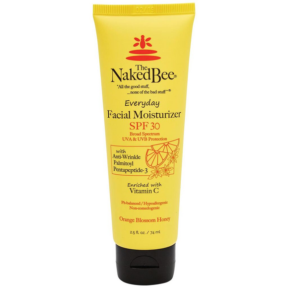 Naked Bee Orange Blossom Facial Moisturizer 2.5oz