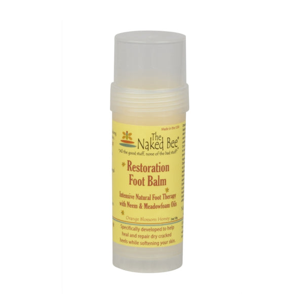 Naked Bee Orange Blossom Foot Balm 2oz