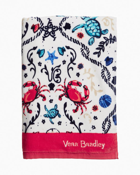 Vera Bradley Beach Towel Sea Life