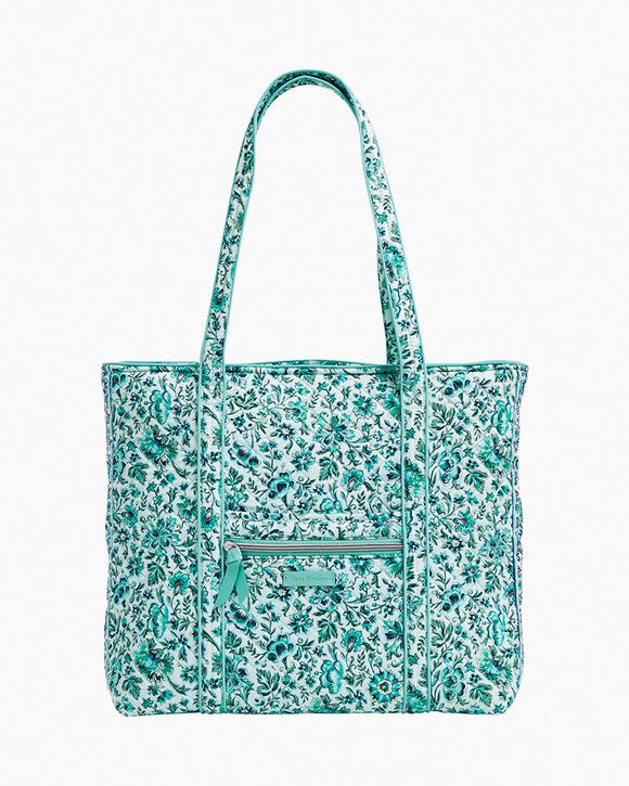 Vera Bradley Iconic Tote In Cloud Vine