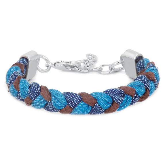 Demdaco Journey Braided Bracelet