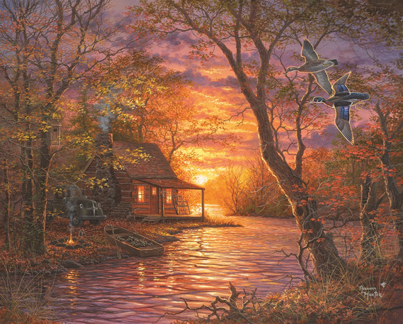Springbok Duck Camp 1000 Piece Puzzle