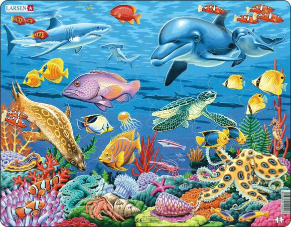 Springbok Coral Reef Educational Puzzle by Larsen 35 pc Puzzle-COMING SOON