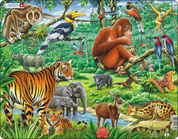 Springbok Jungle Educational Puzzle by Larsen-COMING SOON