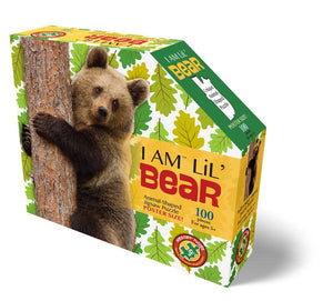 I Am Lil' Bear Puzzle 100 Piece Puzzl'