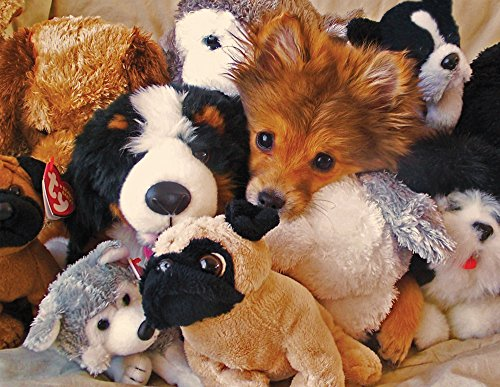 Springbok Playtime Puppies 400 Piece Family Puzzle