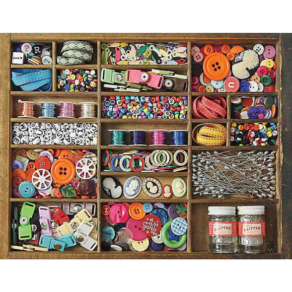 Springbok The Sewing Box  500 pc Puzzle-COMING SOON