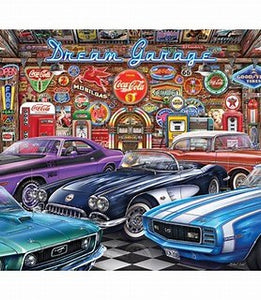Springbok Dream Garage 1000pc Puzzle-COMING SOON