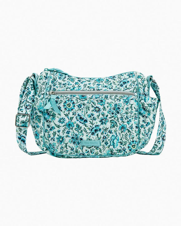 Vera Bradley On the Go Crossbody In Cloud Vine