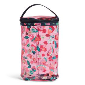 Vera Bradley Lotion Bag In Rosy Garden Picnic