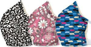 Vera Bradley Cotton Face Mask Santiago Woven Pattern. Available in stores Only