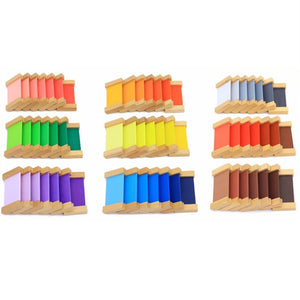 Montessori Color Tablets Box - The Baby Collective Shop