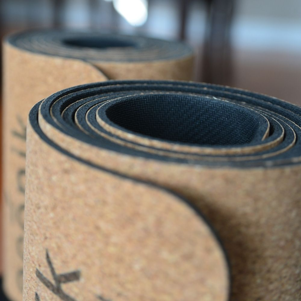 Why yogis should use cork mats.