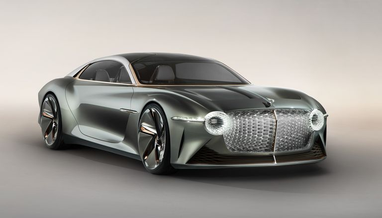 The Bentley EXP 100 GT Showcases a Plan to Make EVs Luxurious