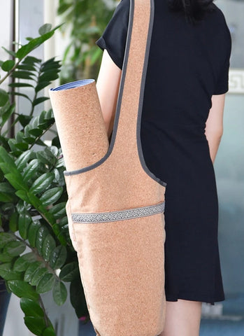 Cork Yoga Bag