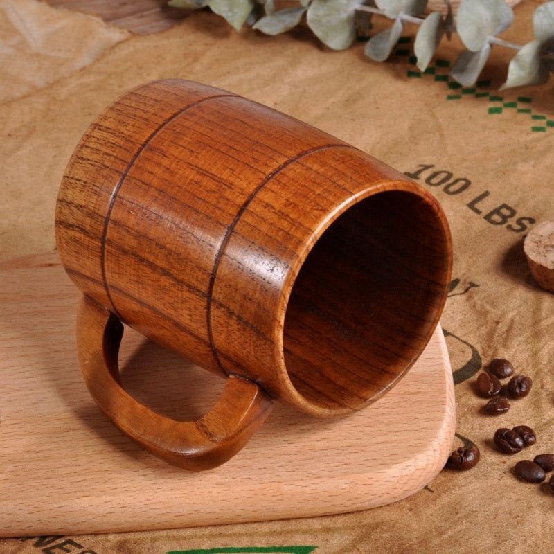 Solid Wood Mug