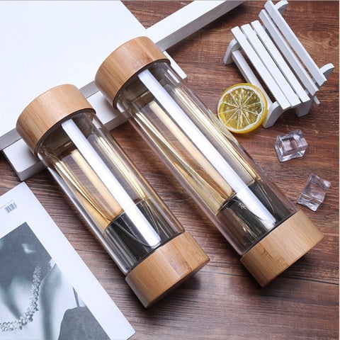 Double Mouth Bamboo Tea Infuser
