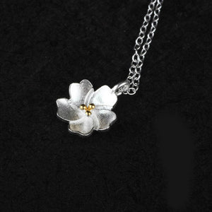Bohemian Cherry Blossom Necklace