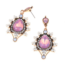 Load image into Gallery viewer, Bohemian Pink Heaven Long drop Earrings