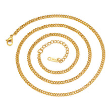 Load image into Gallery viewer, Bold and Gold Chain Necklace