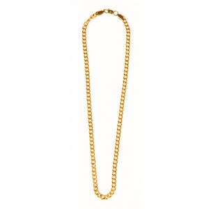 Bold and Gold Chain Necklace
