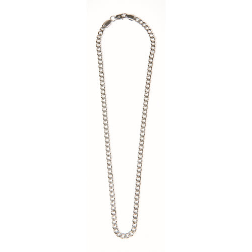 Bold Silver Chain Necklace