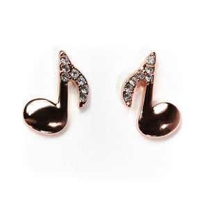 Chic Note Earrings