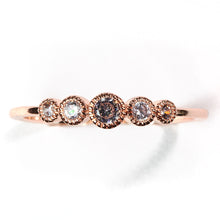 Load image into Gallery viewer, Chic Rose Gold Crystal Ring