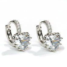Load image into Gallery viewer, Chic Crystal Silver Earrings