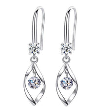 Load image into Gallery viewer, Chic Mid-drop Sparkle Earrings