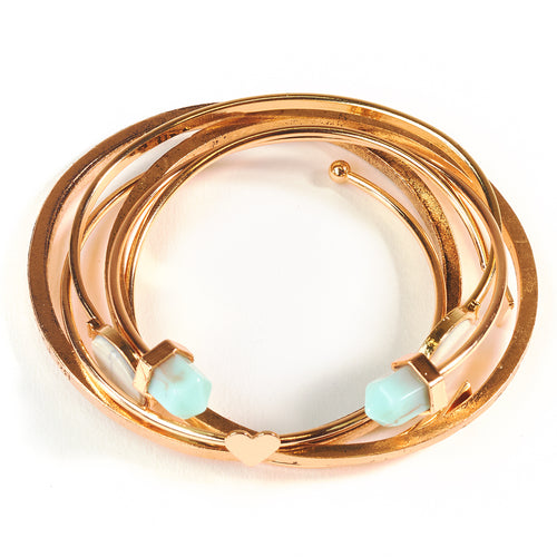 Abundance 6 Piece Bangle Set