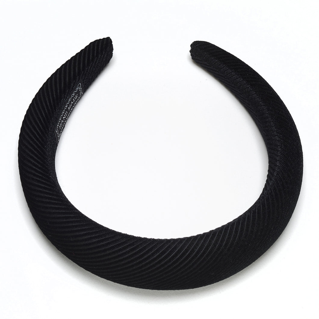 Jules Padded Headbands Black