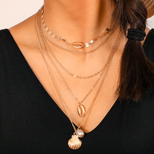 Load image into Gallery viewer, Ocean Layered Necklace