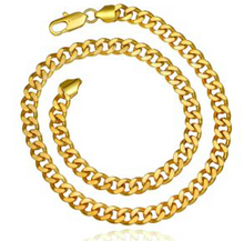 Load image into Gallery viewer, Bold and Gold Chain Bracelet
