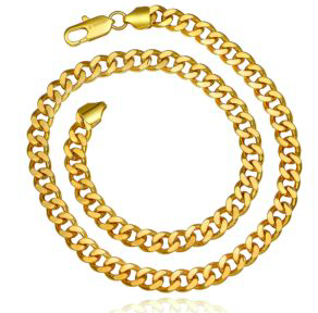 Bold and Gold Chain Bracelet