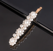 Load image into Gallery viewer, Chic Pearly Hair Pin Gold
