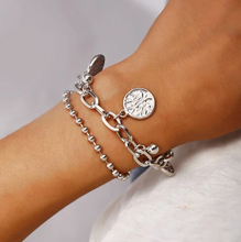Load image into Gallery viewer, Abundance Silver Charm Bracelet