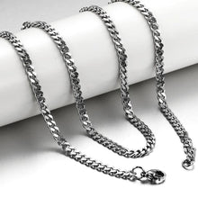 Load image into Gallery viewer, Bold Silver Chain Necklace